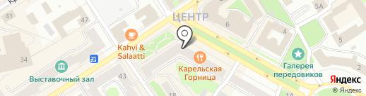 Цепи Room Escape на карте Петрозаводска