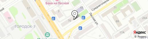 Росгосстрах банк, ПАО на карте Петрозаводска