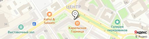 Хорошее место на карте Петрозаводска