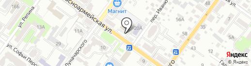 БрянскСтройНедвижимость на карте Брянска