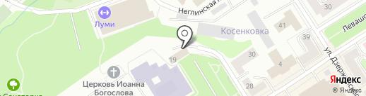 Лаура-Шик на карте Петрозаводска