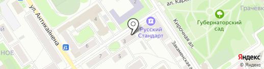 Ва Банк на карте Петрозаводска