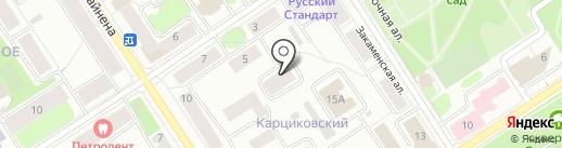 ПАРК, ТСЖ на карте Петрозаводска