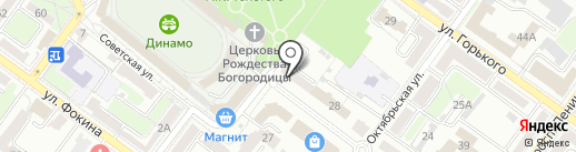 Салон-магазин изделий из натурального камня на карте Брянска
