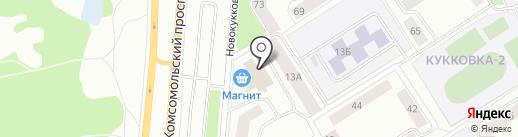 К-9 на карте Петрозаводска