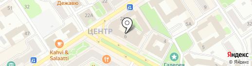 Твоя реклама на карте Петрозаводска