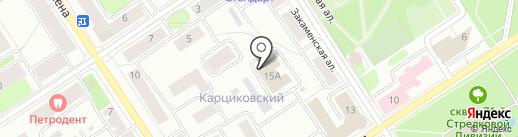 Центр специальной связи и информации Федеральной службы охраны РФ в Республике Карелия на карте Петрозаводска
