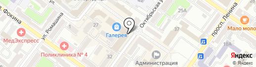 ГИП на карте Брянска