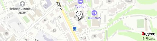 SEO-точка на карте Брянска