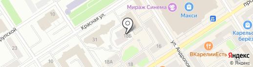Велт Строй, ЗАО на карте Петрозаводска
