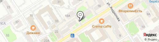 Нотариусы Шубина Н.Н. и Гуртова С.Н. на карте Петрозаводска