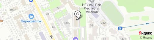 Мои документы на карте Брянска