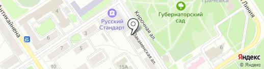 ПетроФЭЙМ на карте Петрозаводска