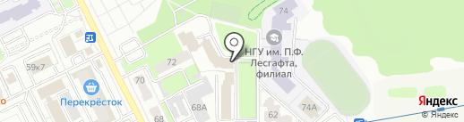 Город32 на карте Брянска