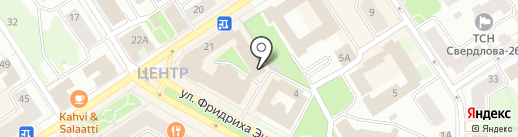 Велнес-центр на карте Петрозаводска