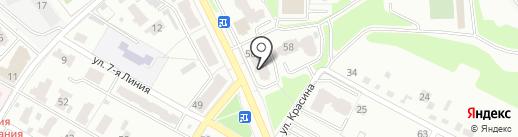 Автомаг на карте Брянска