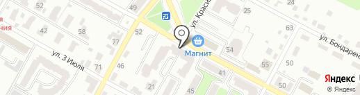 Салон дверей на карте Брянска
