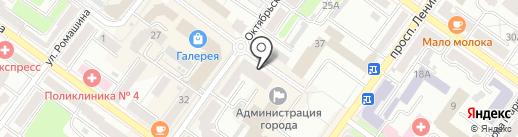 Городской выставочный зал на карте Брянска