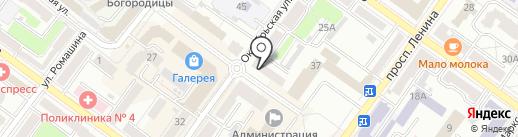 Брянская городская коллегия адвокатов на карте Брянска