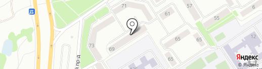 СанТехМонтаж Дом на карте Петрозаводска