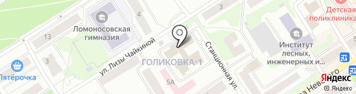 Центр подводных работ на карте Петрозаводска
