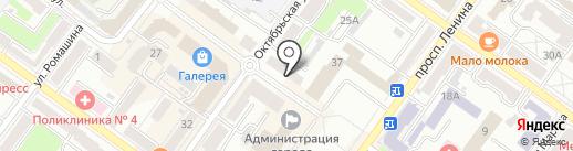 Belara на карте Брянска
