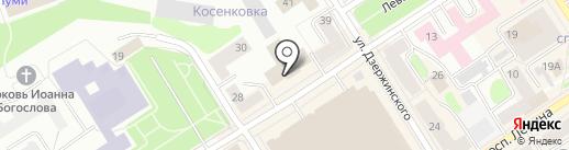 Массажный кабинет на карте Петрозаводска