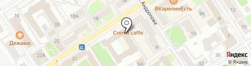 Почтовое отделение №28 на карте Петрозаводска