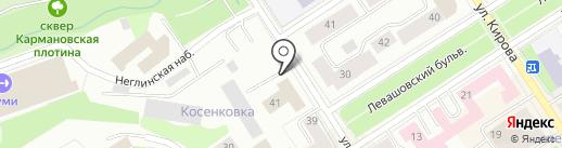МЕКОМ на карте Петрозаводска