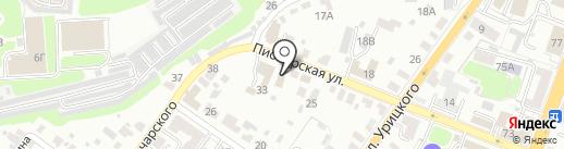 Церковь евангельских христиан баптистов на карте Брянска