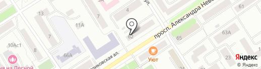 СМАРТ СИСТЕМС на карте Петрозаводска