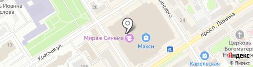 Calipso на карте Петрозаводска