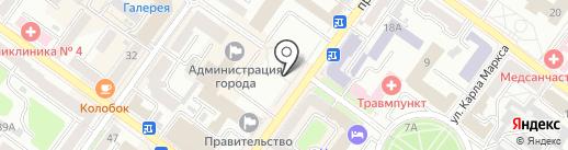 ГК Регион-гарант на карте Брянска