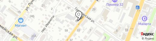 Брянское областное бюро судебно-медицинской экспертизы на карте Брянска