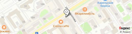DNS на карте Петрозаводска