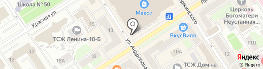 Torsson на карте Петрозаводска