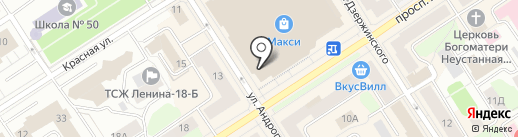 Билайн на карте Петрозаводска