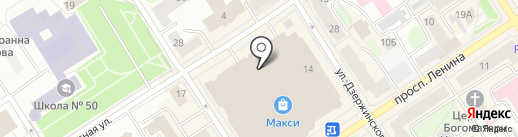 GIROSMART Plus на карте Петрозаводска