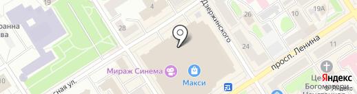 AKCENT на карте Петрозаводска