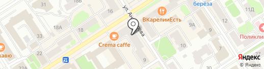 Autostudio на карте Петрозаводска
