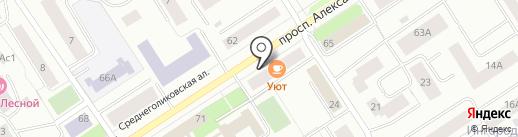 Агентство ритуальных услуг на карте Петрозаводска