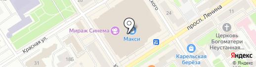 Паста Пицца Бар на карте Петрозаводска