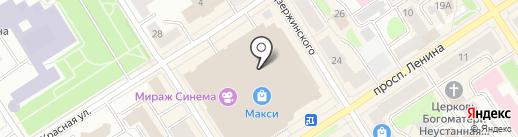 Джунгли на карте Петрозаводска