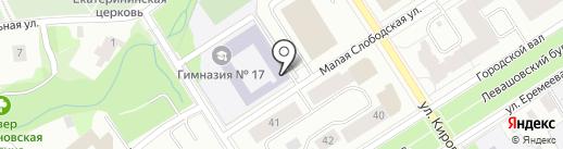 Муниципальный архив г. Петрозаводска на карте Петрозаводска
