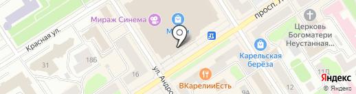 Caramele на карте Петрозаводска