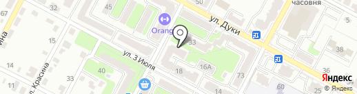 Брянскремстрой на карте Брянска