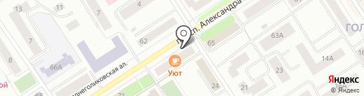Уют на карте Петрозаводска