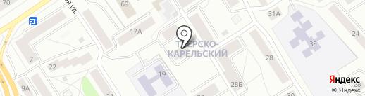 Лесное 12, ТСЖ на карте Петрозаводска