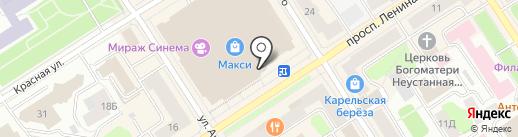 ТРЮФЕЛЬ на карте Петрозаводска