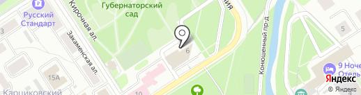 Семь слонов на карте Петрозаводска